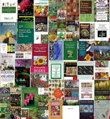 مجموعه کتایهای گل و گیاه و دانه و باغبانی