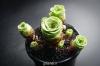 بذر ساکولنت گل رز Aeonium aureum